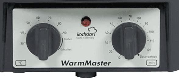 minuteur et thermostat intégré du kochstar Warmmaster